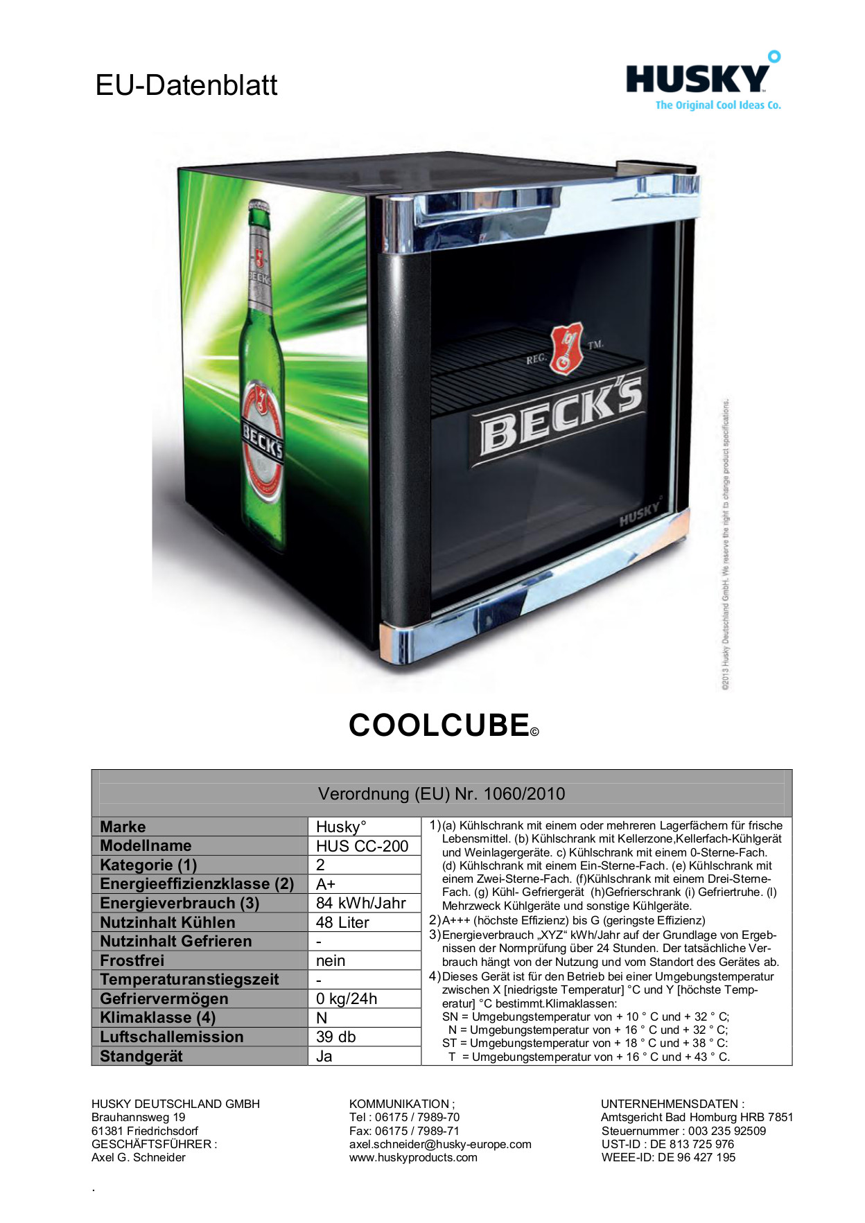Mini Kühlschrank Becks: Amstyle mini k?hlschrank liter minibar ...