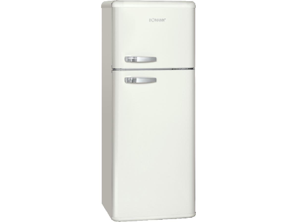 Bomann Kühlschrank Angebot : Bomann doppeltür kühlschrank retro dtr creme eek a