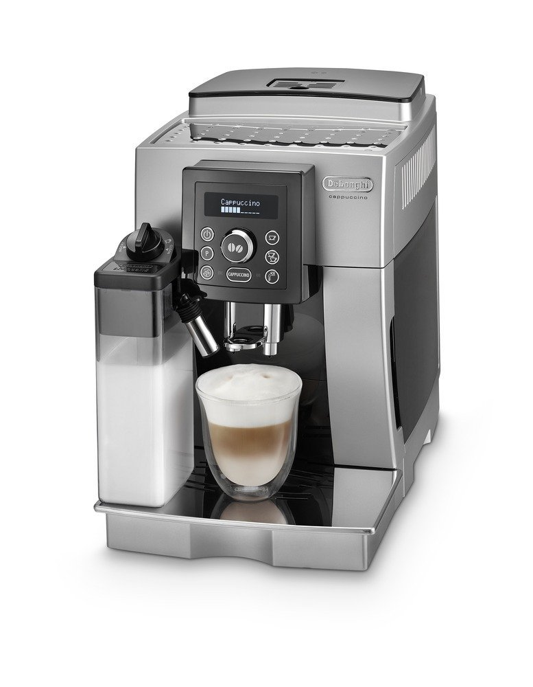 delonghi ecam kaffee vollautomat silber neu 8004399327993 ebay. Black Bedroom Furniture Sets. Home Design Ideas