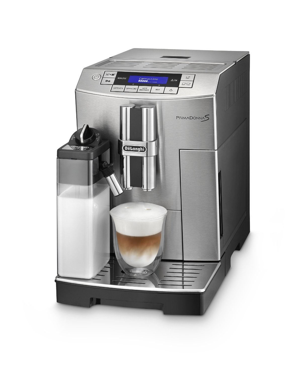 delonghi ecam mb primadonna s kaffeevollautomat neu ovp ebay. Black Bedroom Furniture Sets. Home Design Ideas