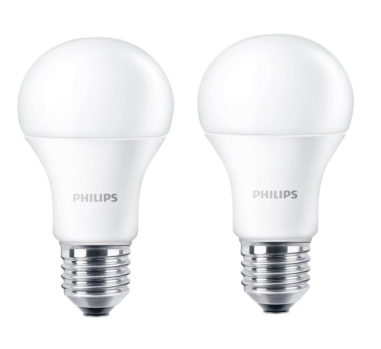 philips led lampe doppelpack eek a 9w 806 lumen e27 warmwei neu ebay. Black Bedroom Furniture Sets. Home Design Ideas